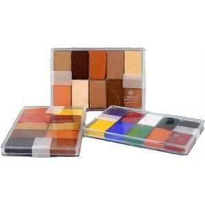 Fard creme foundation - 10 colors