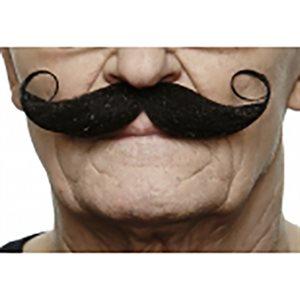 Moustache - Noir - 13 x 4cm